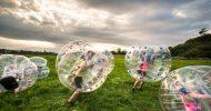 Bild Bubble Fußball in Dresden