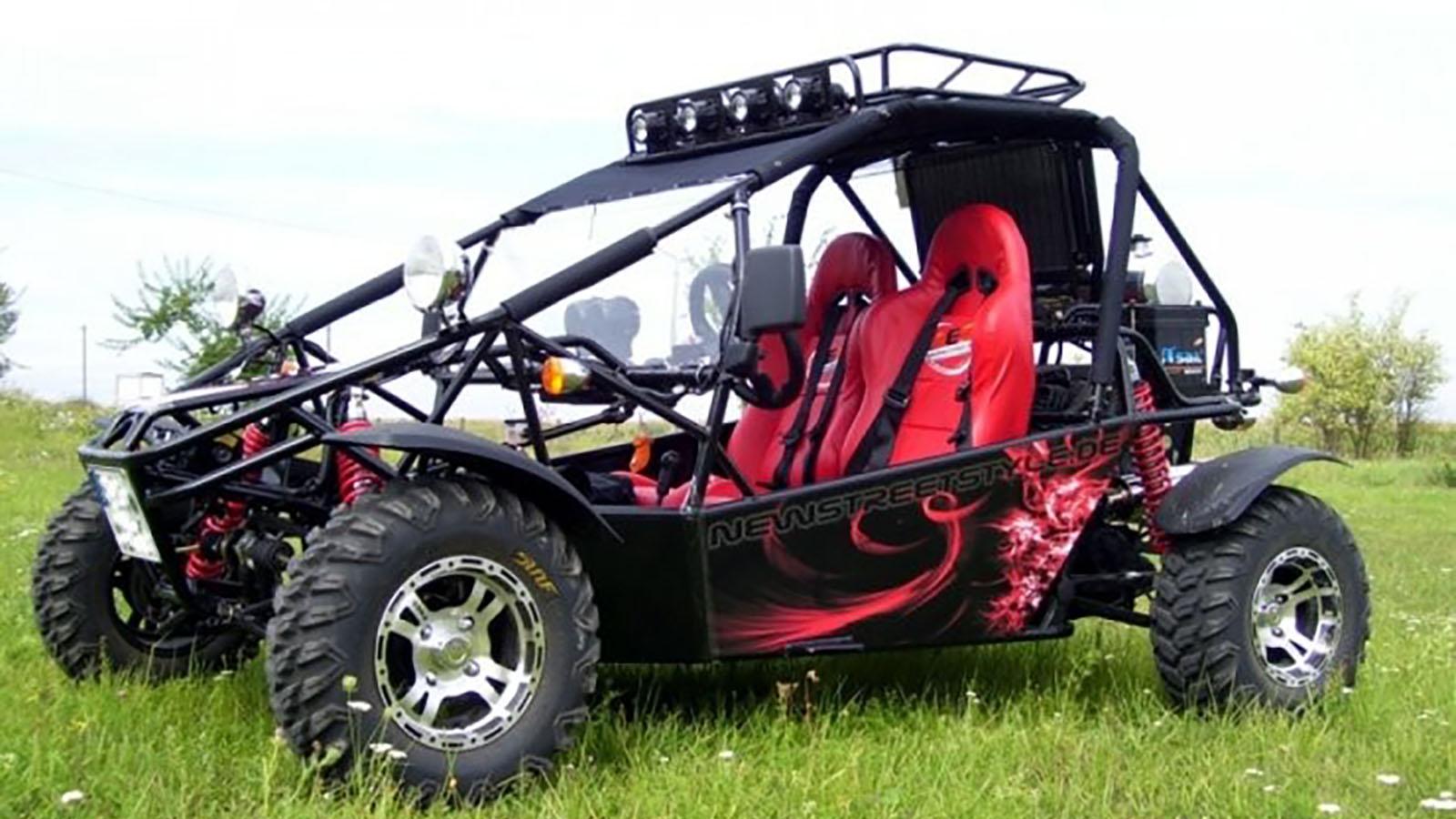 stra en buggy kinroad fahren bei leipzig erlebnisfabrik. Black Bedroom Furniture Sets. Home Design Ideas