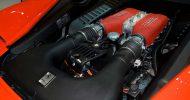 Bild Renntaxi Ferrari F458 Italia auf dem Lausitzring
