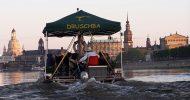 Bild Floßfahrt auf der Elbe mit Segway Tour durch Dresden