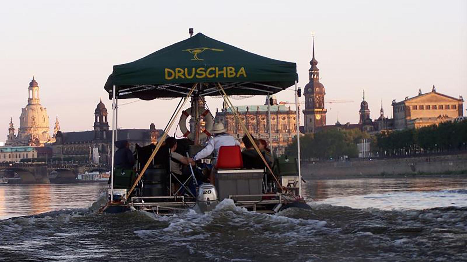 Floßfahrt Dresden