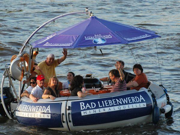 Übersicht über alle Grillboot Touren in Dresden