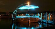 Bild Grillboot Tour Dresden bei Nacht