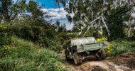 Bild Militär Hummer Offroad fahren bei Berlin