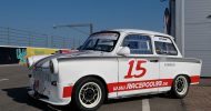 Bild Race Trabant 601 Renntaxi auf dem Lausitzring