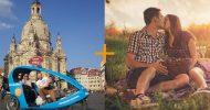 Bild Rikscha Fahrt mit Picknick für Zwei in Dresden