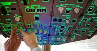 Bild Flugsimulator Boing 777 in Rottenburg