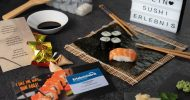 Bild Geschenkbox zu Sushi Erlebnissen