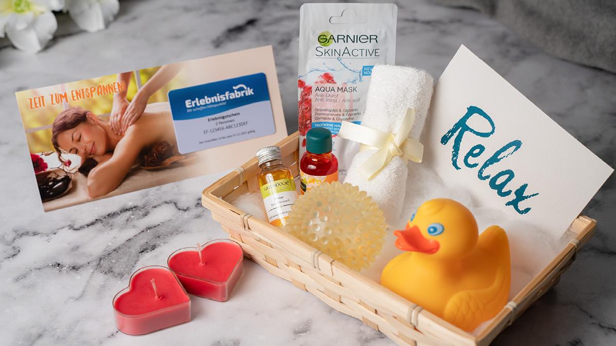 Geschenkbox Zu Wellness Erlebnissen Erlebnisfabrik