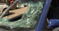 Bild Auto zertrümmern in Chemnitz