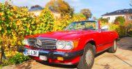 Bild Mercedes Benz SL560 fahren bei Dresden