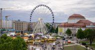 Bild Frühstück über Dresden im Riesenrad