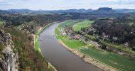 Bild Hubschrauber Rundflug über die Sächsische Schweiz
