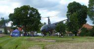 Bild Hubschrauber Actionflug
