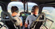 Bild Hubschrauber Flugtraining bei Erfurt