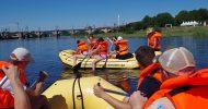 Bild Schlauchboot Tagestour Dresden bis Radebeul