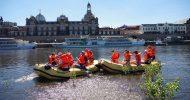 Bild Schlauchboot Tour Dresden Altstadt